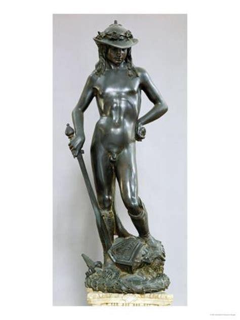 david sculpture david bronze sculpture l 225 mina gicl 233 e por donatello en