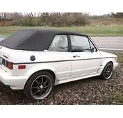 1988 Volkswagen Cabriolet  Overview CarGurus