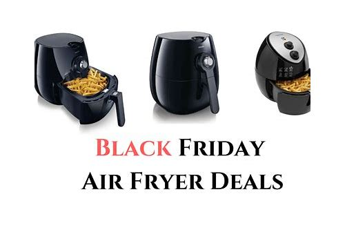 black friday deals on fryers