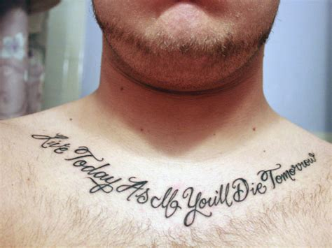 god quotes about life tattoo 31 precious tattoo quotes for men