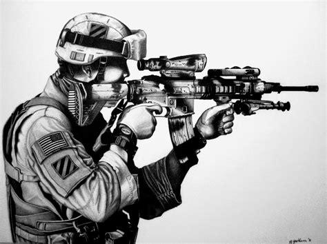 Bellumartis Historia Militar 191 Por Qu 201 Los Soldados Cool Drawings Of Shooting 2