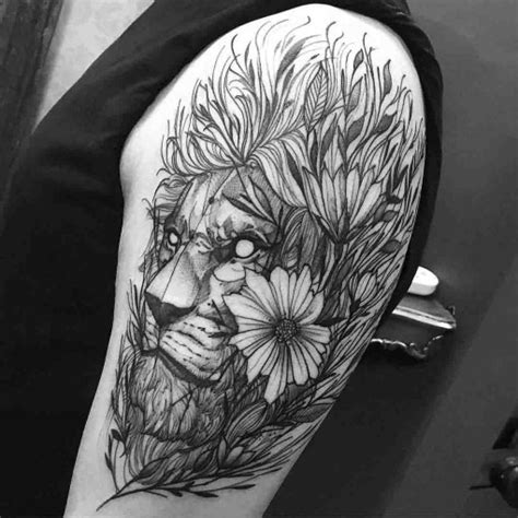 lion tattoo shoulder best tattoo ideas gallery