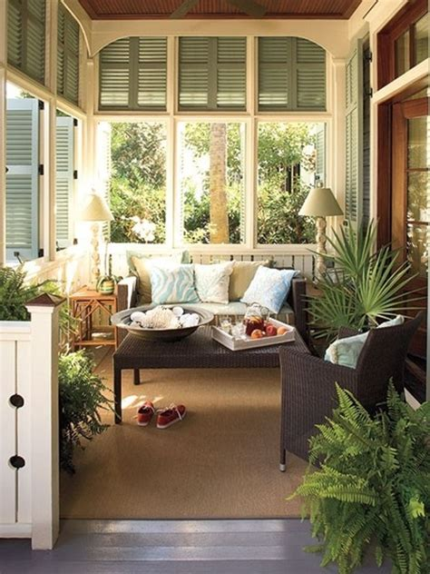 Southern Living Sunrooms porch summer inspiration southern hospitality