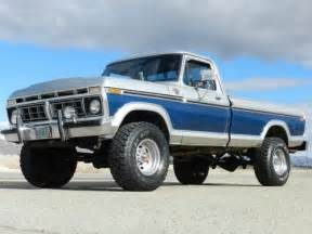 Ford High Boy Buy Used 1977 Ford F250 Ranger Xlt 4x4 Highboy Original
