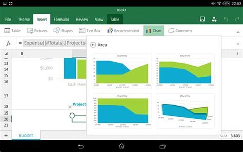 android landscape layout exle hands on with microsoft office preview for android tablets