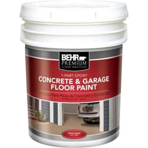 behr 5 gal base 1 part epoxy floor paint 93005 the