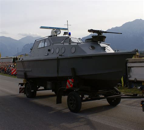 Swiss Navy 5852 Originall file patrouillenboot 80 schweizer armee steel parade