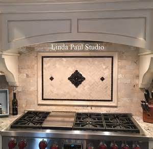 backsplash medallions kitchen kitchen backsplash murals mosaic medallions and accent