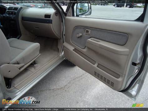2002 nissan frontier interior beige interior 2002 nissan frontier xe king cab photo
