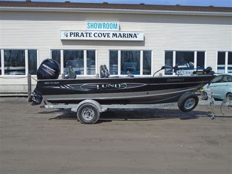 lund fishing boats for sale canada lund 1825 pro guide tiller us529 2013 used boat for sale