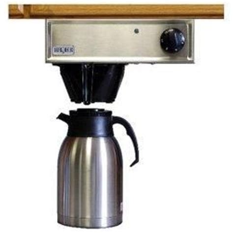 Cabinet Coffee Maker Reviews by Counter Coffee Maker Brewmatic Undercabinet