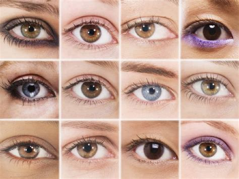 different types of eye colors eye makeup ideas makeup tips for different eye shapes