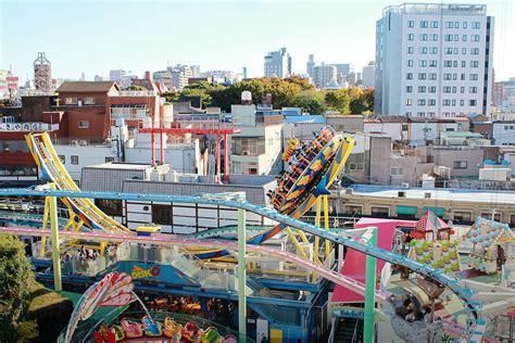theme park tokyo solo at hanayashiki amusement park in tokyo japan s