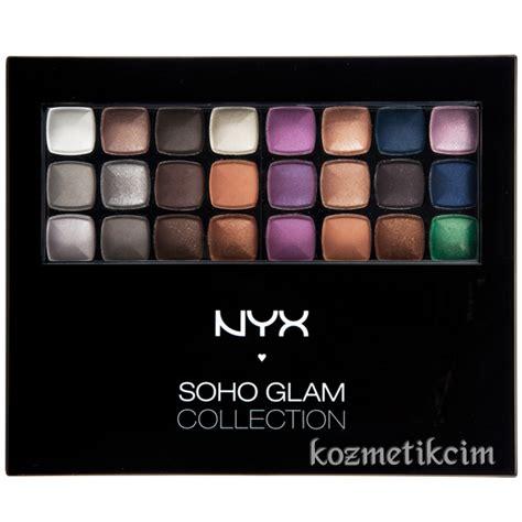 Nyx Soho Glam Collection nyx soho glam collection makyaj seti kozmetikcim