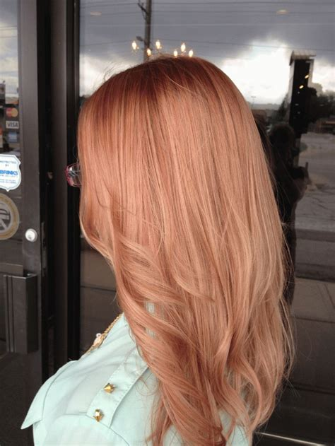 is rose gold haircolor the same as strawberry blonde haircolor best 25 light strawberry blonde ideas on pinterest