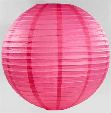 Paper Lantern Pink 24 quot paper lanterns pink