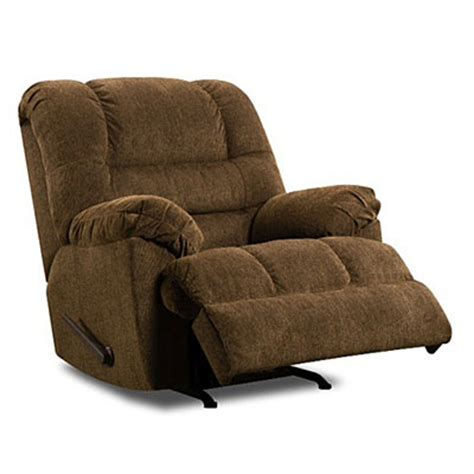 View Simmons Verona Chocolate Recliner Deals At Big Lots