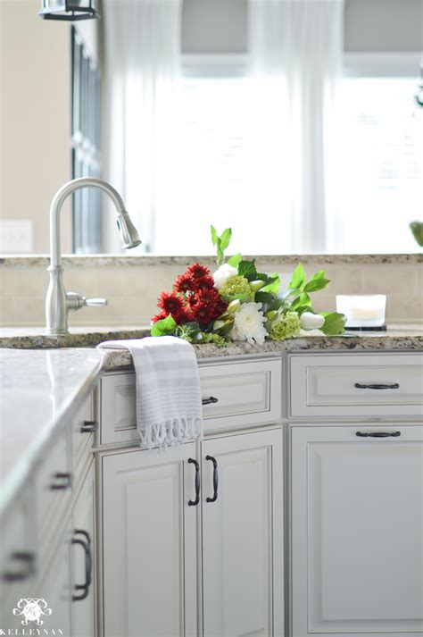 White Flower Kitchen by Company Is Coming Prep And Cleaning Routine With S
