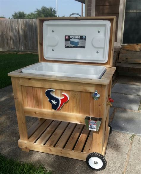 Handmade Coolers - custom texans cooler by mt stringer lumberjocks