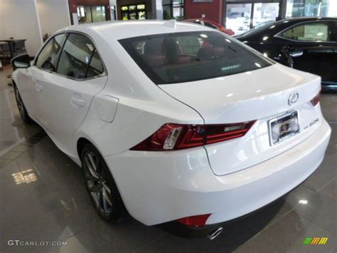 white lexus red interior 2014 ultra white lexus is 250 f sport awd 83836081 photo