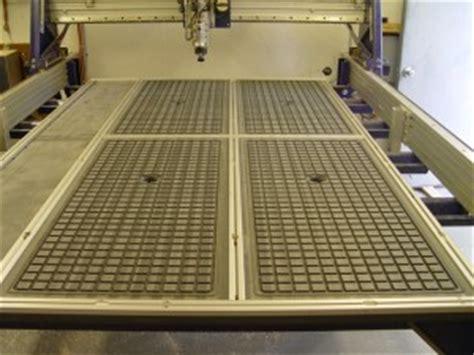 cnc vacuum table gasket a pvc vacuum table part 2 a more on plenum design