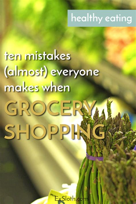 Grocery Shopping Mistakes by 10 Grocery Shopping Mistakes Almost Everyone Makes