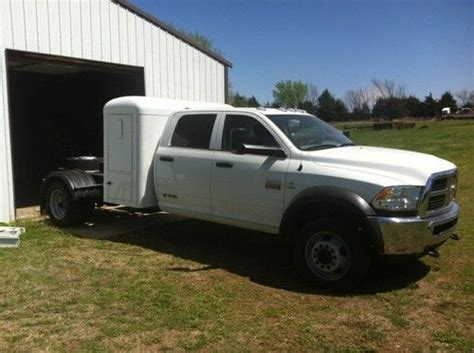 With Sleeper Cab by Buy Used 2012 Dodge Ram 4500 4dr Cab Chassis With Kenworth