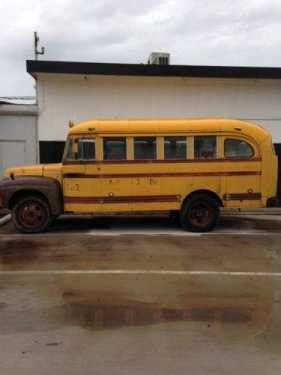 international harvester  school bus  loan
