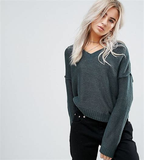 Elvi Plus V Neck Jumper 23 best s pullover v neck pullover asos images