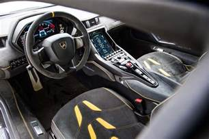 Interior Of A Lamborghini Lamborghini Centenario Roadster Confirmed For Monterey