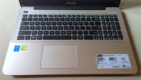 Keyboard Asus X540l asus x555l series notebook review intel i5 5200u