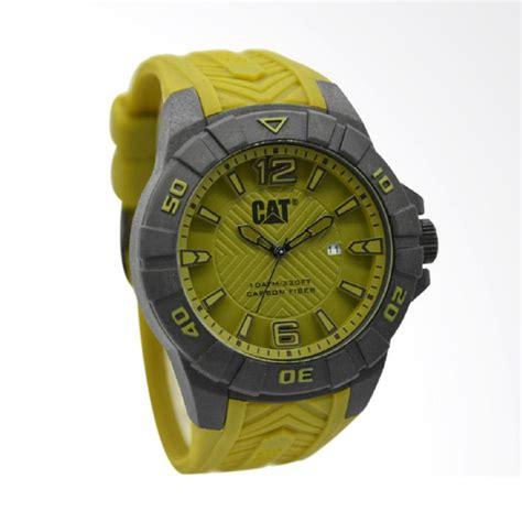 Caterpillar Abu Abu jual caterpillar rubber jam tangan pria hijau ring