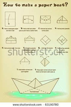 How To Make A Big Boat Out Of Paper - 1000 ideas about paper boats on origami boat