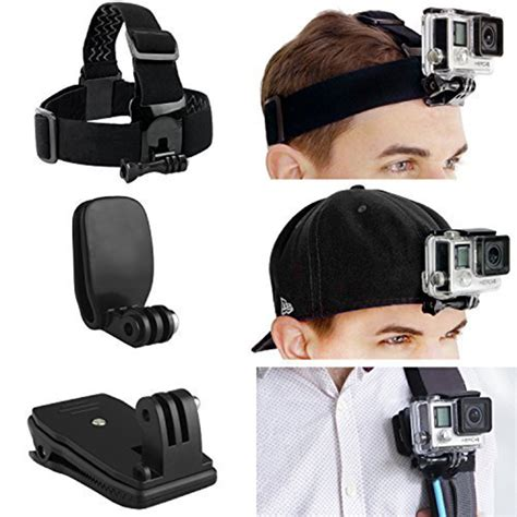 Quickclip For Gopro Xiaomi Yi Xiaomi Yi 2 4k go pro accessories kits mount and backpack mount