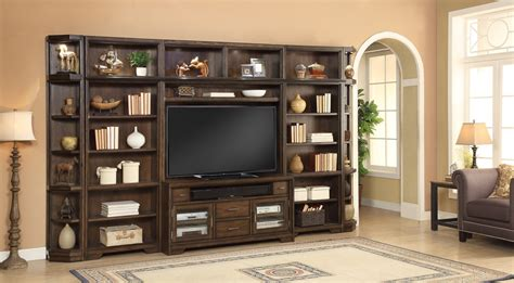 house meridien library bookcase entertainment wall
