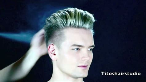 sweden men hairstyles swedish model gustav new hair cut and color by