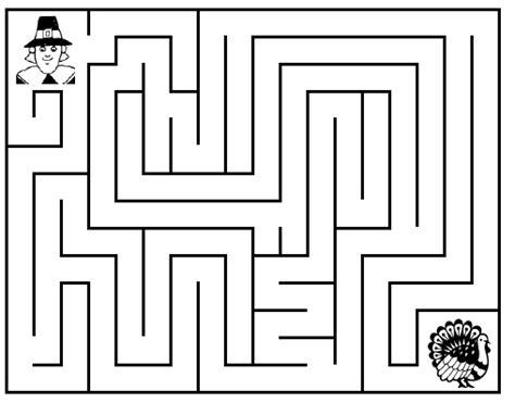 free printable turkey mazes thanksgiving coloring pages printable thanksgiving mazes