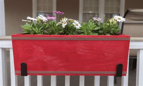 Patio Flower Boxes by Build Your Own Outdoor Flower Box Arrow Projects