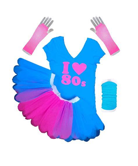 Pink Skinner Set Limited 80 i 80s limited edition pink blue t shirt tutu set