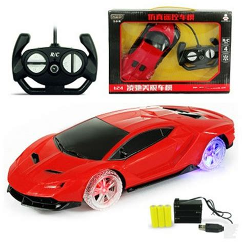 Remote Cars 920 3 glowing color wheel 1 24 4ch rc cars collection radio controlled cars can be charged machines on
