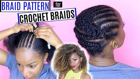 what of hair to get for crotchet brauds how to braid your hair for crochet braids detailed