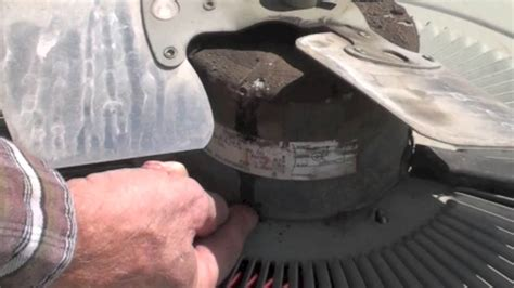 central ac fan motor service the air conditioner check and the fan motor