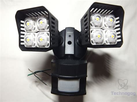 outdoor security sensor lights review of sansi led security motion sensor outdoor lights