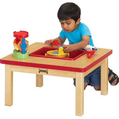 jonti craft toddler sensory table 0685jc apple school supply