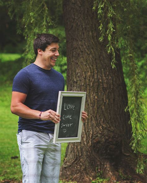 Husband Photo by Surprises Unsuspecting Husband With Pregnancy