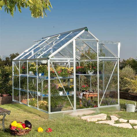 serre de jardin tunnel 1701 serre jardin polycarbonate 4 6 m2