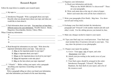 Writing Academic Reports Exles by Writing Students Reports Minkoff