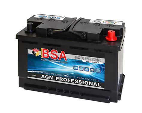 Bmw 1er E87 Batterie Laden by Agm Autobatterie 85ah 820a Audi Bmw Mercedes Vw Start