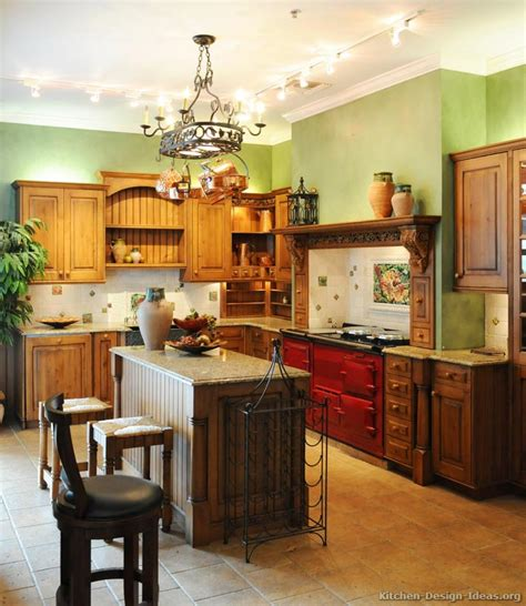 traditional italian kitchen design a traditional italian kitchen design with a red aga stove