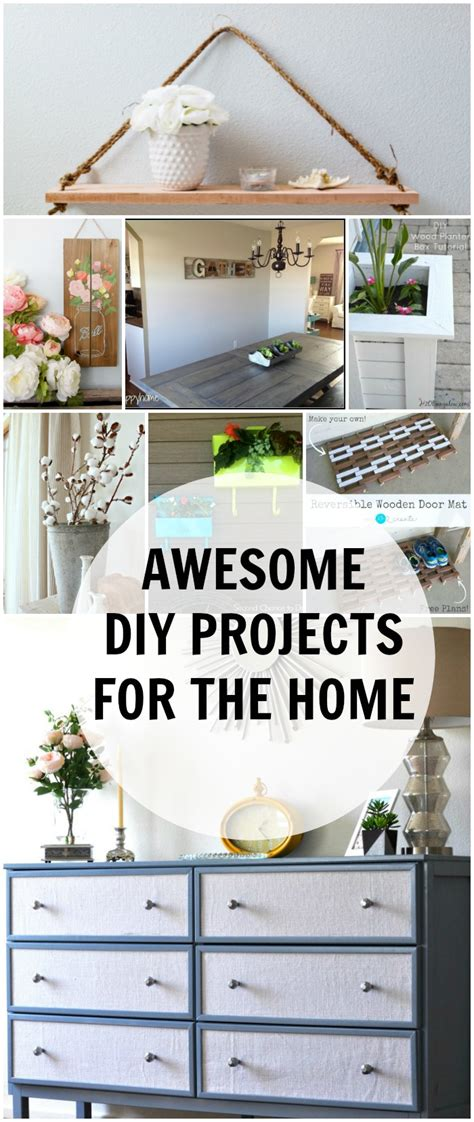 diy projects awesome awesome diy projects for the home work it wednesday no